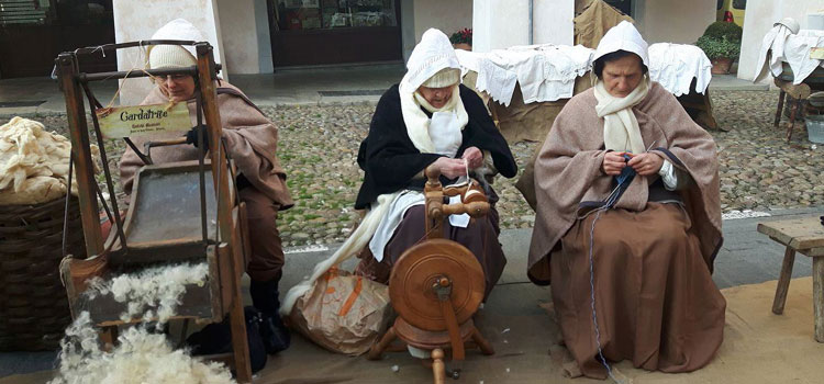 Antichi mestieri - la filatura della lana