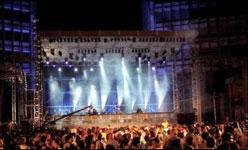 Allestimento concerti per feste aziendali