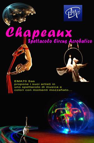 Spettacolo circus acrobatico