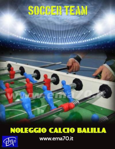 Noleggio calcio balilla