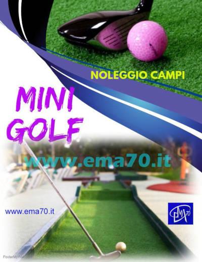 Noleggio campi da mini golf