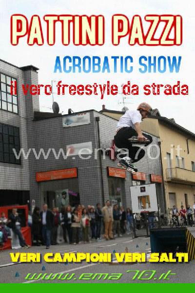 Pattini pazzi - Show acrobatico