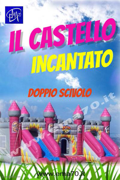 Giochi gonfiabili - Il castello incantato