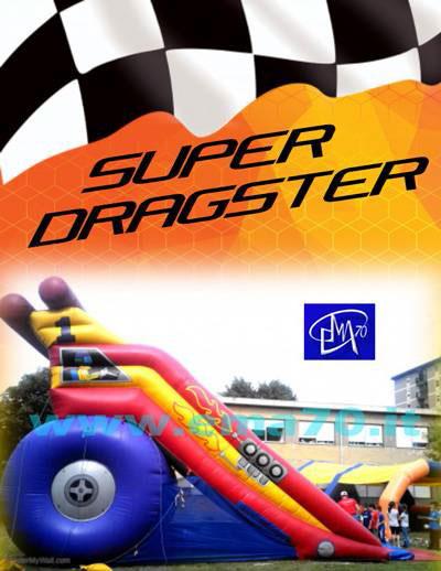 Giochi gonfiabili - Super dragster