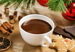 Una tazza di cioccolata