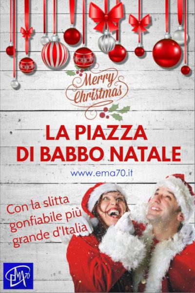 Locandina de La piazza di Babbo Natale