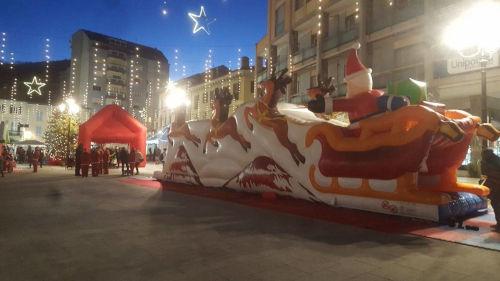 La grande slitta di Babbo Natale