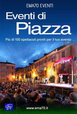 Locandina eventi di piazza