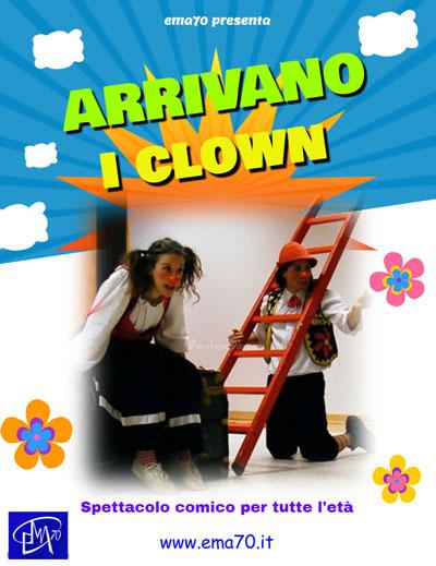 Locandina arrivano i clown
