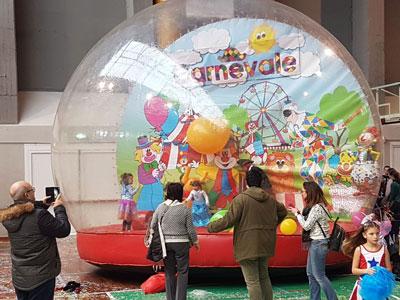 La grande bolla di carnevale
