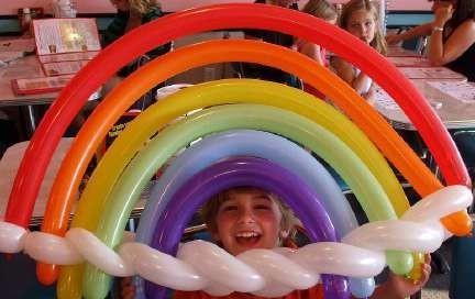 Carnevale - Sculture di palloncini