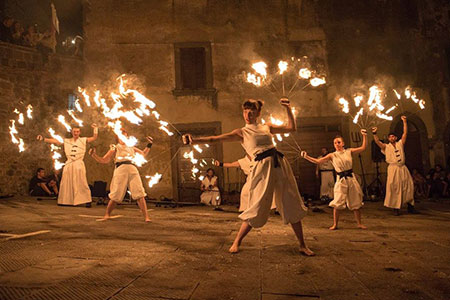 Giochi con il fuoco - Spettacoli medioevali