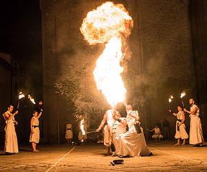 Sputafuoco - spettacoli medioevali