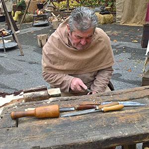 Lavoratore del legno - Spettacoli medioevali