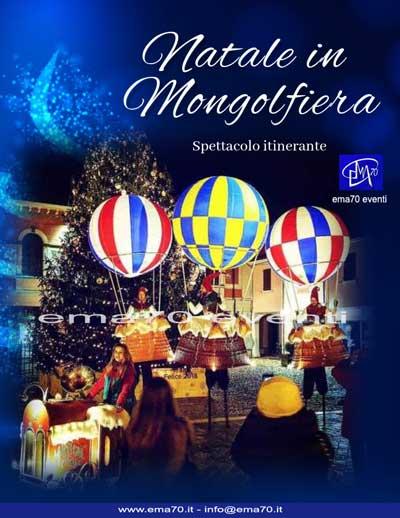 Natale in mongolfiera Spettacoli di Natale