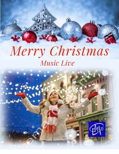 Merry Christmas music live - Spettacoli di Natale
